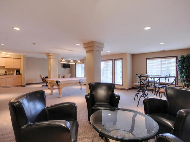 There is a great social room in the B building which you are welcome to use as you like. Take a walk across the parking lot with your company and they will be impressed.