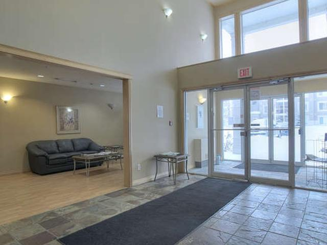 Each entrance way to the buildings has a handy sitting area that is comfortably furnished.
