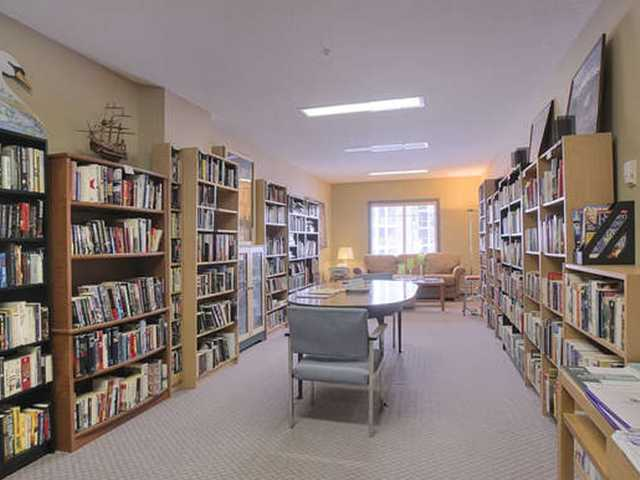 The MOST ORGANIZED LIBRARY ever exists on the second floor of the A building. You need to explore to find all the books you can add to your list of must reads.