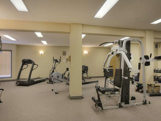 A very large exercise room is found on the main floor of the A building. You can work out and make new friends.
